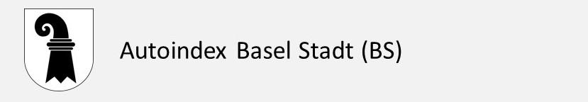 Autoindex Basel Stadt BS Autokennzeichen