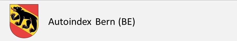 Autoindex Bern BE Autokennzeichen