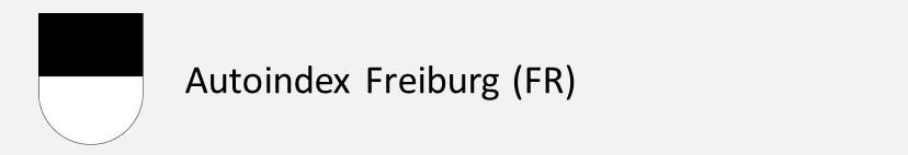Autoindex Freiburg FR Autokennzeichen