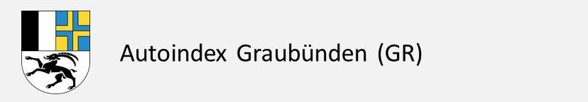 Autoindex Autokennzeichen Graubünden GR