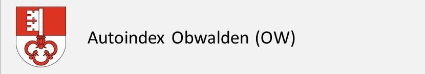 Autoindex Obwalden OW