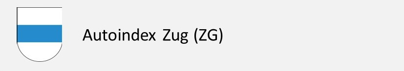 Autoindex Zug - Autokennzeichen ZG